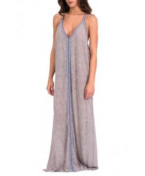 Pitusa Cover-Up Maxi Dress - Grey