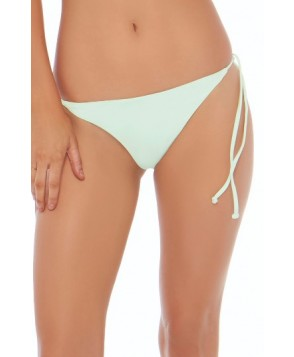 L Space Lily Side Tie Bikini Bottoms - Blue/green