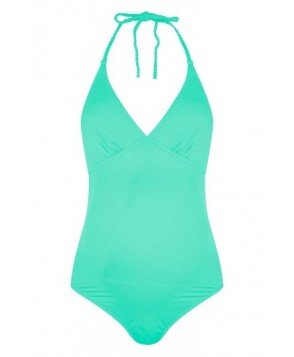 Topshop Braid One-Piece Maternity Swimsuit US (fits like 6-8) - Green