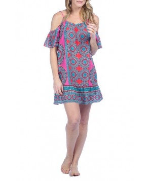 Green Dragon Global Flourish Cover-Up Slipdress - Pink