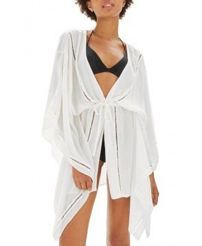Topshop Ladder Stitch Cover-Up Caftan US (fits like 6-8) - White