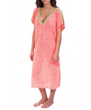Pitusa Cover-Up Midi Dress - Pink