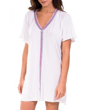 Pitusa Cover-Up Dress - White