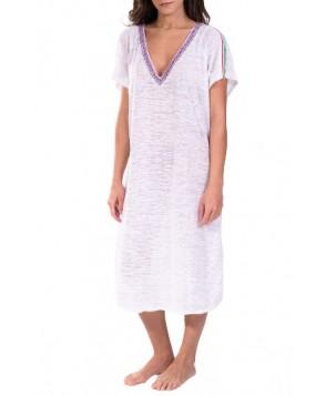 Pitusa Cover-Up Midi Dress - White