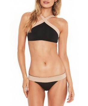 L Space Reversible Bikini Bottom - Black