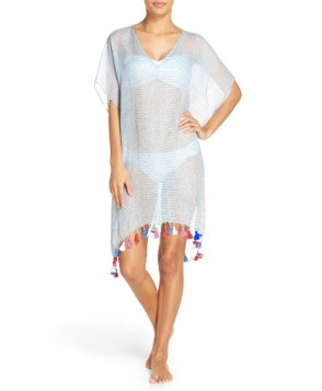 Seafolly Fine Stripe Cover-Up Caftan