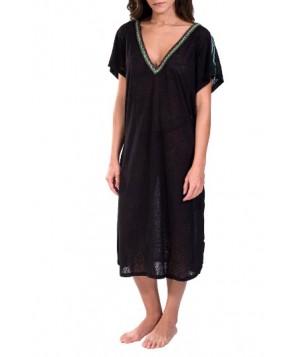 Pitusa Cover-Up Midi Dress - Black