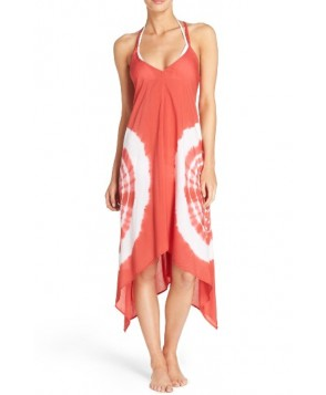 Elan Cover-Up Dress - Red