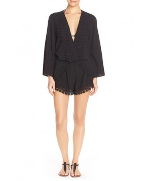 La Blanca 'Costa Brava' Cover-Up Romper