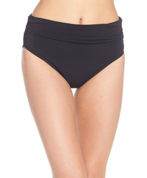 Magicsuit Ruched Bikini Bottoms  - Black
