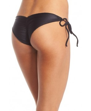 Luli Fama 'Wavy' Brazilian Side Tie Bikini Bottoms
