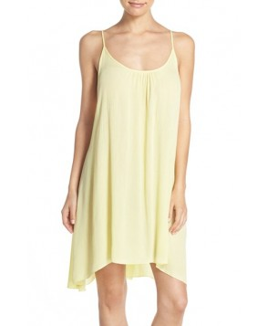 Elan Cover-Up Slipdress  - Yellow