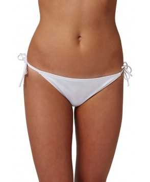 Topshop Slinky Side Tie Bikini Bottoms US (fits like 14) - White