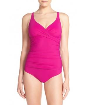 Profile By Gottex Surplice One-Piece Swimsuit