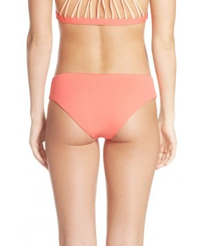 Maaji 'Starfish Vibes' Reversible Bikini Bottoms  - Orange