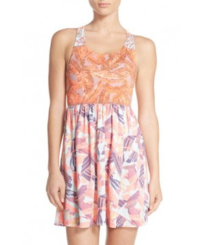 Maaji 'Amber Palms' Strappy Back Cover-Up Dress