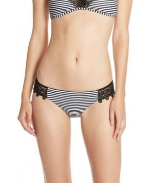 Seafolly Riviera Hipster Bikini Bottoms  US /  AU - Black