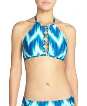 La Blanca 'New Wave' Halter Bikini Top