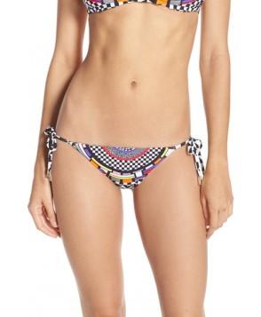 Red Carter 'Cali' Reversible Bikini Bottoms