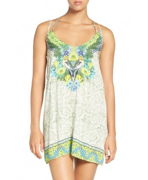 Maaji 'Cockatoo Toon' Strappy Back Cover-Up Dress
