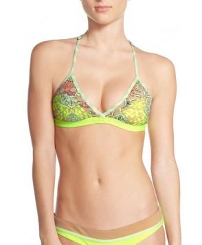 Maaji 'Matisse Landscape' Reversible Macrame Back Bikini Top