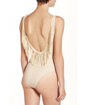 Rip Curl 'Joyride' Fringe One-Piece Swimsuit