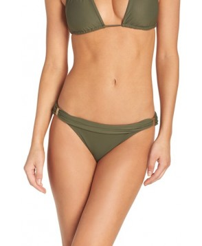 Vix Swimwear 'Bia' Bikini Bottoms  - Green