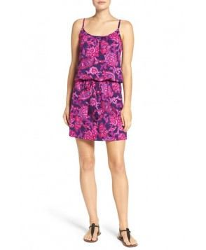Tommy Bahama 'Jacobean' Floral Cover-Up Dress