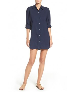 Tommy Bahama Cotton Cover-Up Shirt