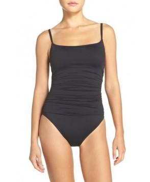 La Blanca 'Island Goddess' One-Piece Swimsuit  - Black