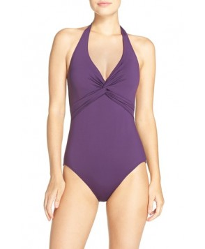 Tommy Bahama 'Pearl' Halter One-Piece Swimsuit