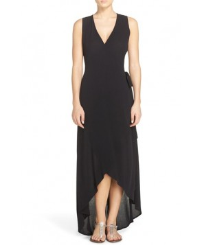 L Space Twilight Cover-Up Wrap Dress