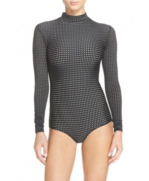 Acacia Swimwear Mesh One-Piece Swimsuit