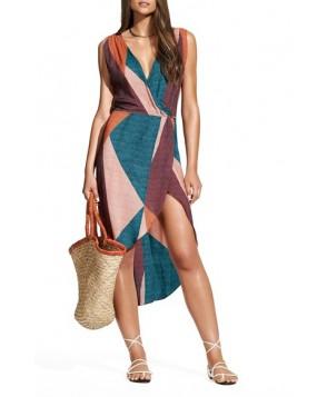 Vix Swimwear Ananda Gisele Colorblock Caftan
