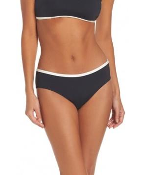 Kate Spade New York Hipster Bikini Bottoms  - Black
