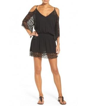 Becca Blouson Cover-Up Tunic - Black