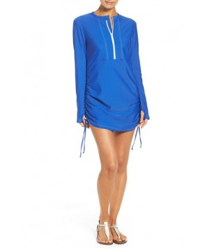 Mott 50 'Sonja' Long Sleeve Half Zip Convertible Swimdress