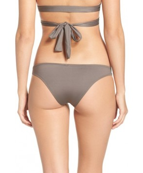Vitamin A Neutra Hipster Bikini Bottoms  - Grey