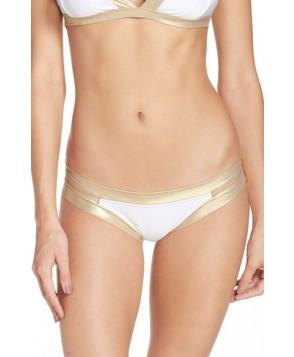 Luli Fama Split Side Bikini Bottoms