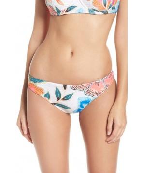 Mara Hoffman Floral Print Bikini Bottoms