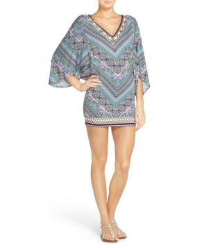 Laundry By Shelli Segal Bohemian Tulip Cover-Up Tunic