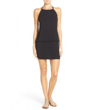 Laundry By Shelli Segal Blouson Cover-Up Dress