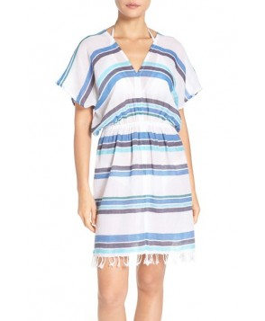 Tommy Bahama Stripe Gauze Cover-Up Dress