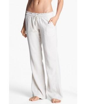 Roxy 'Oceanside' Beach Pants - Beige