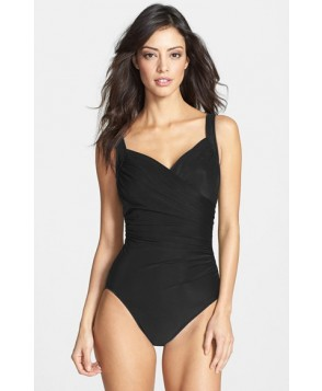 Miraclesuit 'Sanibel' Underwire One-Piece Swimsuit - Black