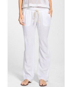 Roxy 'Oceanside' Beach Pants - White