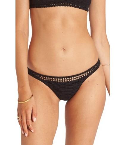 Billabong Hippie Hooray Hawaii Lo Bikini Bottoms - Black