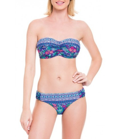 Blush By Profile Underwire Bandeau Bikini Top