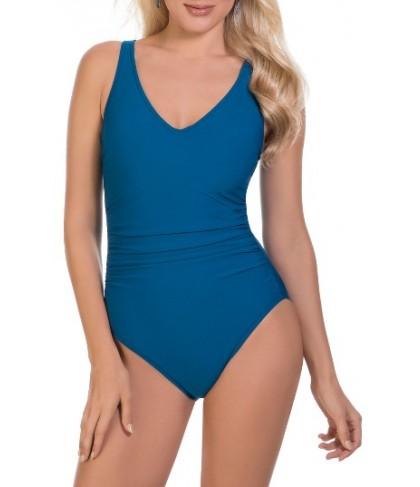 Magicsuit Behind Bars Steffi One-Piece Swimsuit - Blue