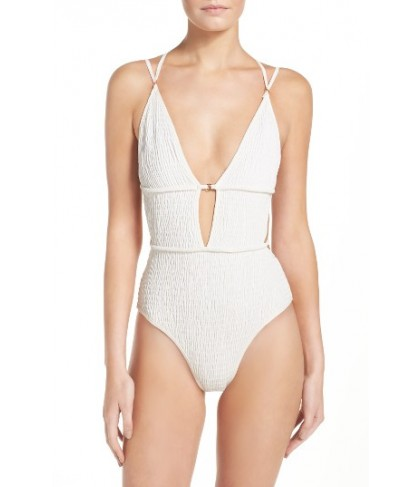 For Love & Lemons One-Piece Swimisuit - White